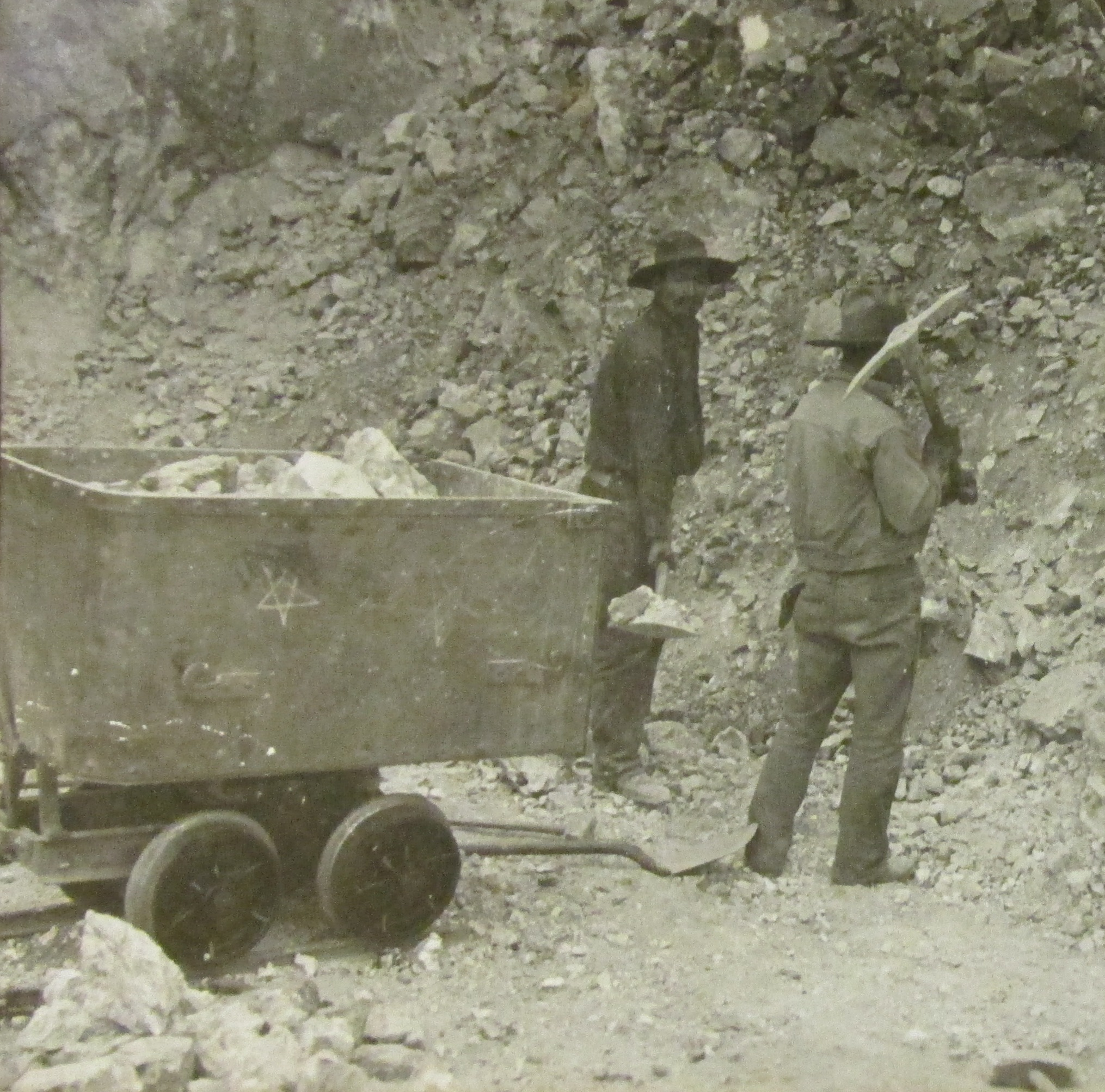 Mining the old fashioned way